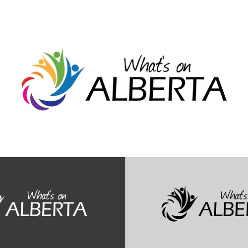 Logo concept for - What's on Alberta