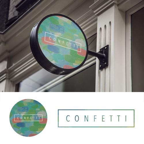 Confetti Logo Design
