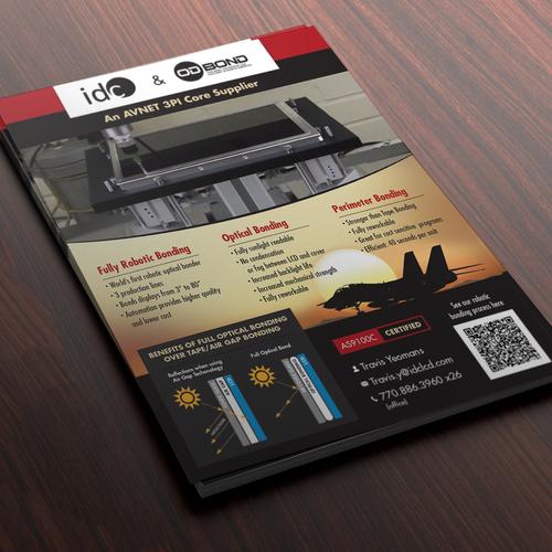 Flyer for Robotic Optical Bonding Factory