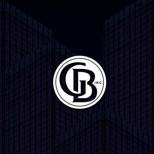 Sophisticated logo for construction company