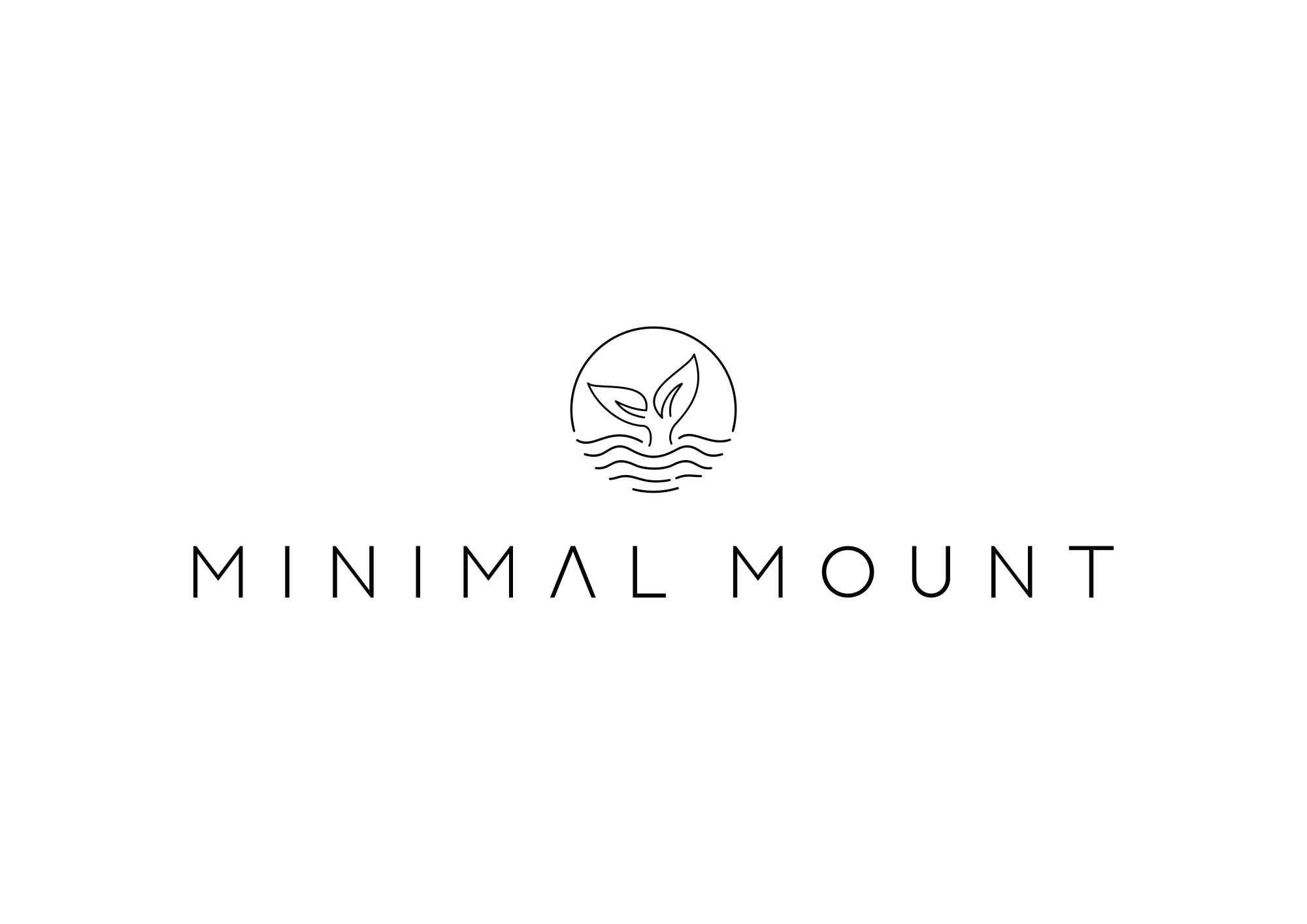 minimalistic logo for a sustainable sports brand