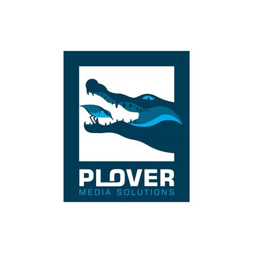 Logo design for Plover Media Solutions