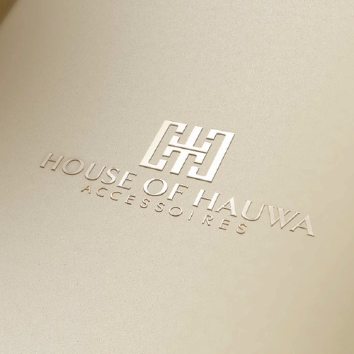 Create a capturing luxurious logo for an accessories company