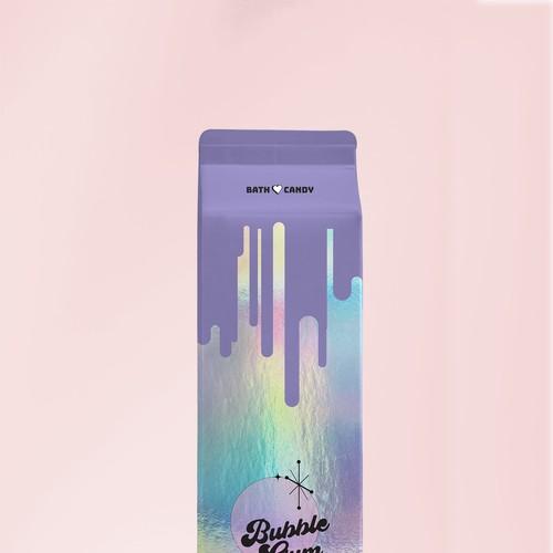 Fun modern packaging design