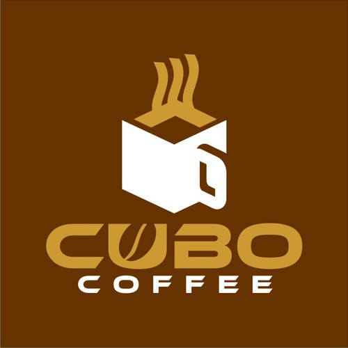 Cubo - Coffee Product Logo with Modern Style