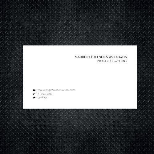 Help me get classy with a stylish business card