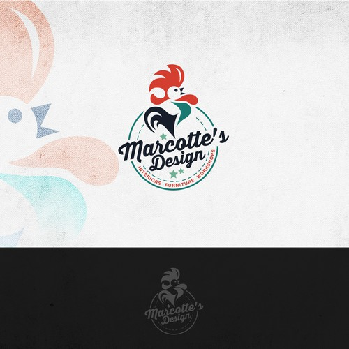 """Marcotte's Design"" logo design proposals"