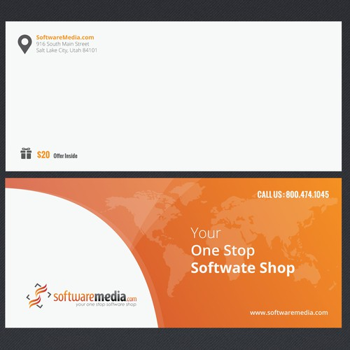Create tri-fold brochure for software reseller