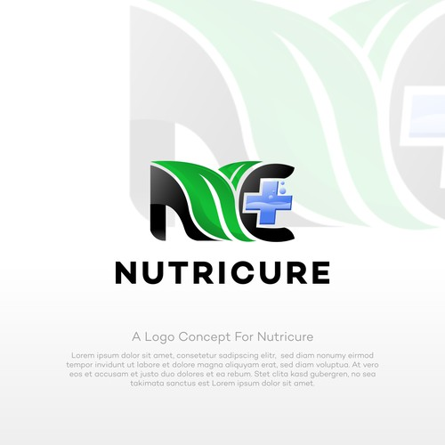 a logo concept for nutricure
