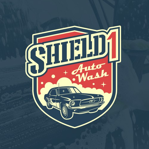 Classic Logo for Veteran-Owned Car Wash