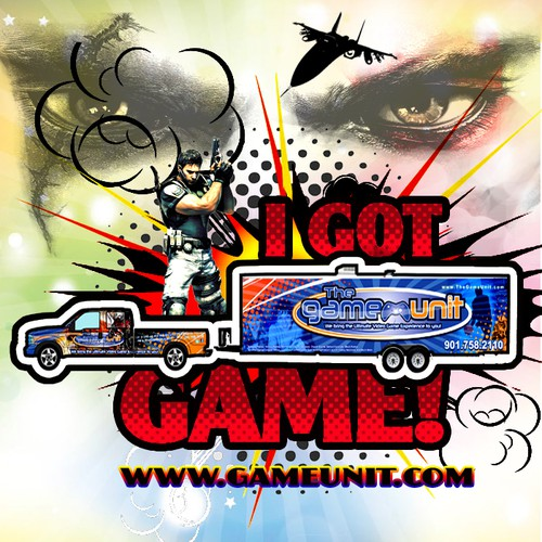 Hot T-Shirt Design Needed for Video Game Truck!
