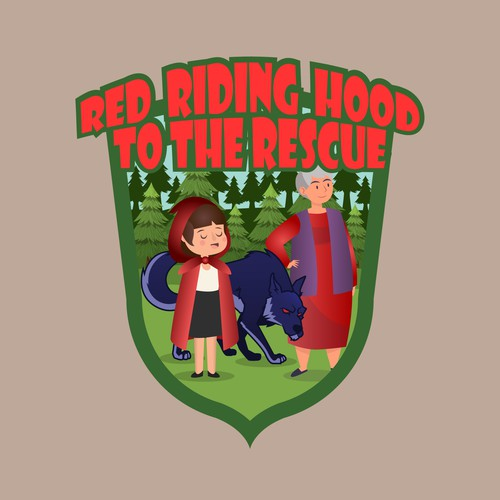 Theatre Pantomime RED RIDING HOOD LOGO