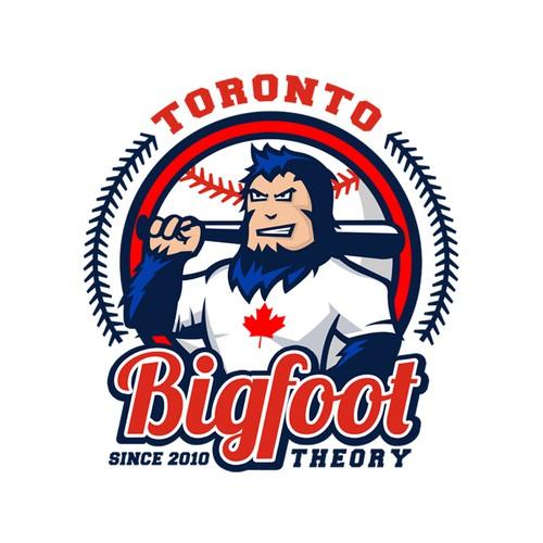 Logo design for_Toronto Bigfoot Theory