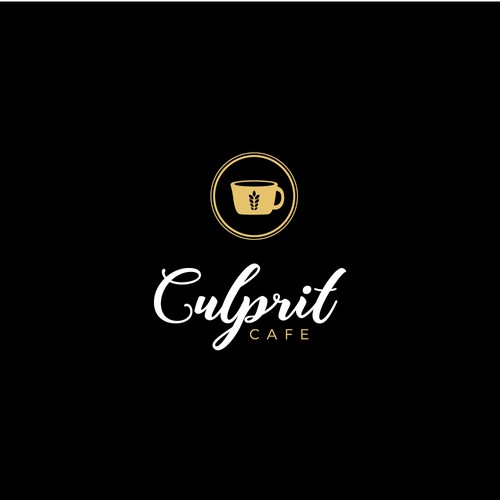 Cafe Logo design entry