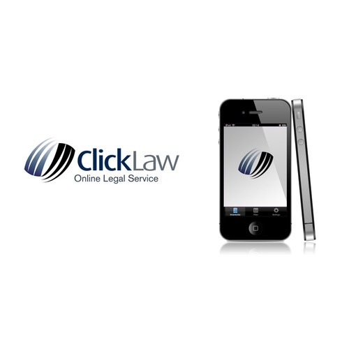 Create a brand logo for exciting online law firm