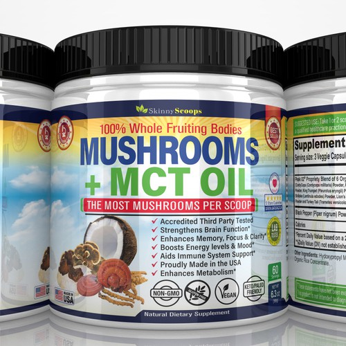 musgrooms supplements