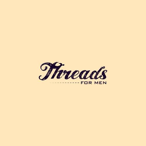Mens clothing logo concept