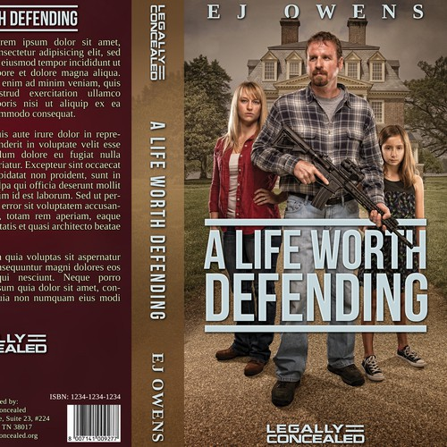 "Cover for a book ""A Life Worth Defending"""