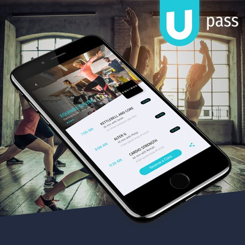 App design for Gym