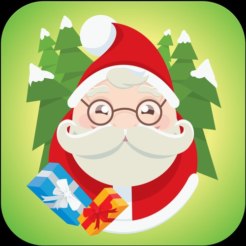 Icon for Santa Tracking App
