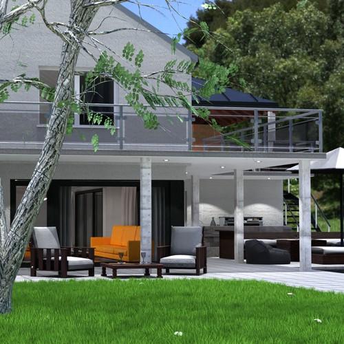 Plan based house