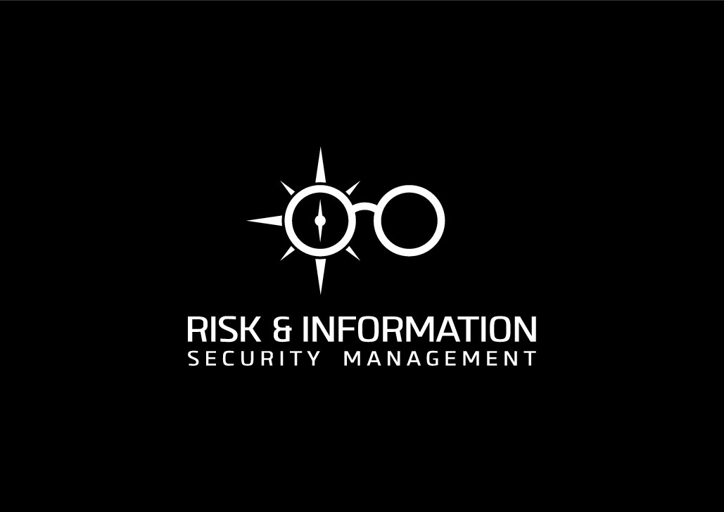 Risk and Information Security Logo for Internal Dept. at Lens Manufacturing Company