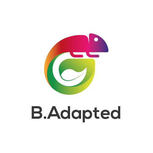 clever logo proposal for B.Adapted