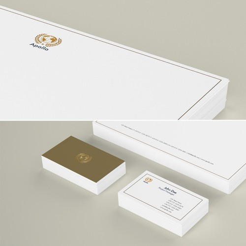 Business Card design for High End Supplement Company