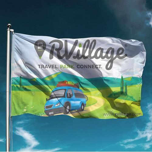 RVillage Premium Member Flag