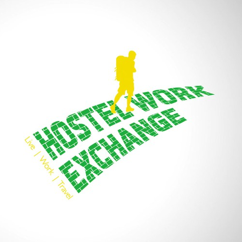 Create the next logo for Hostel Work Exchange