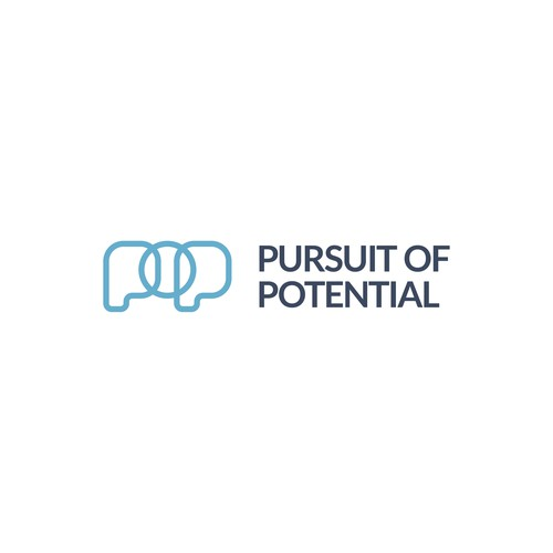 Logo concept for Pursuit of Potential