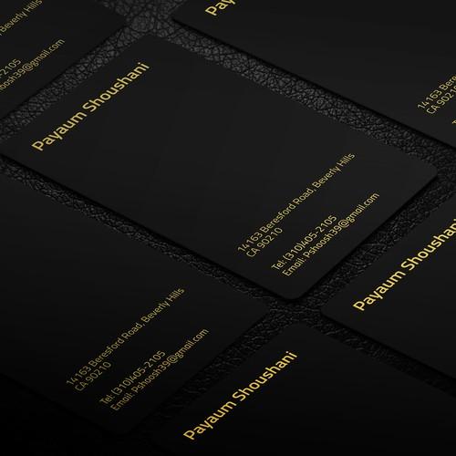 Elegant, clean, simple Business card
