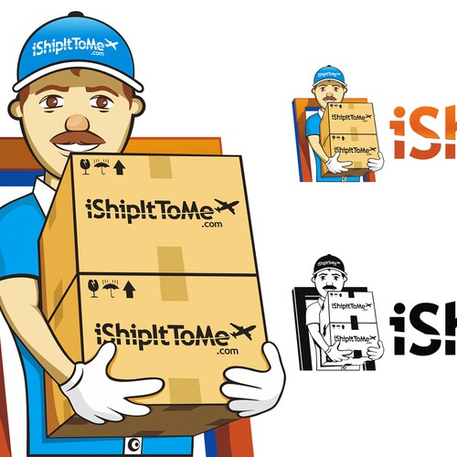 Help iShipItToMe.com with a new logo