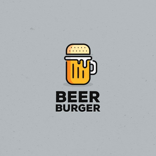 Logo concept for Beer Burger