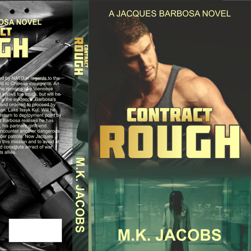 Create a Cover for a New Thrilling Action/Adventure Series.
