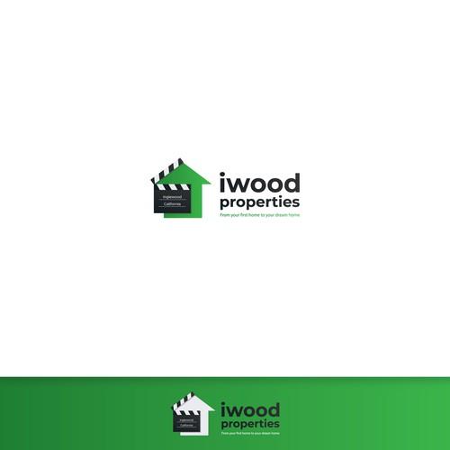 Iwood logo concept