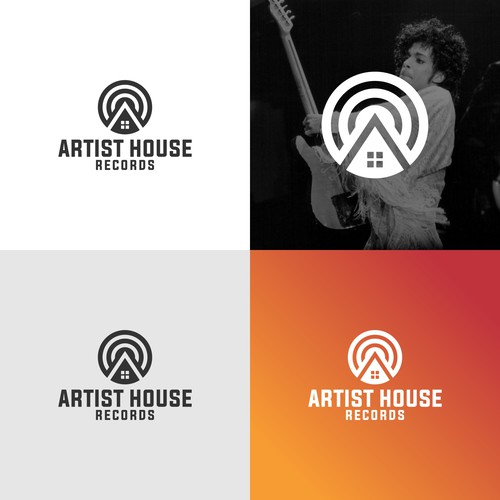 House Logo For Artist House Records