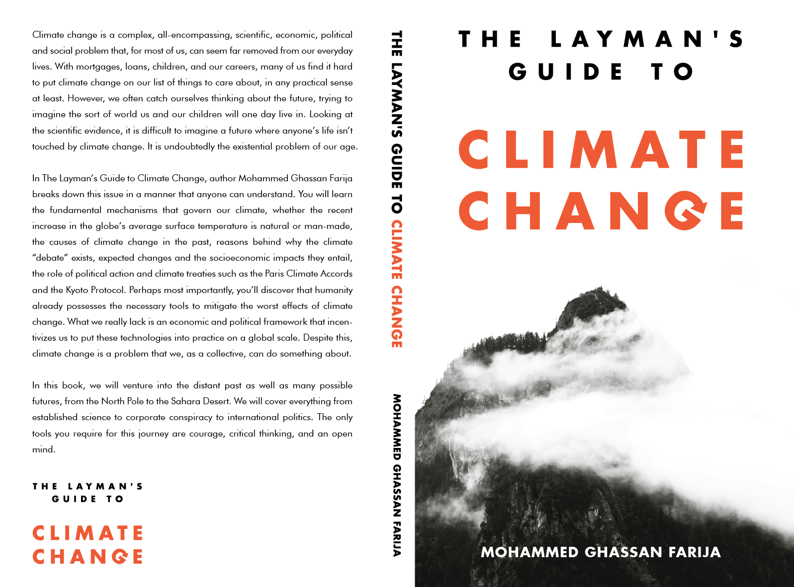 Layman's Guide To Climate Change Back and Spine