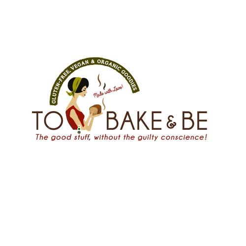 Logo design for vegan bakery