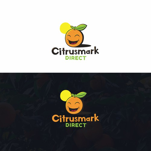 Fun logo for a fruit delivery company
