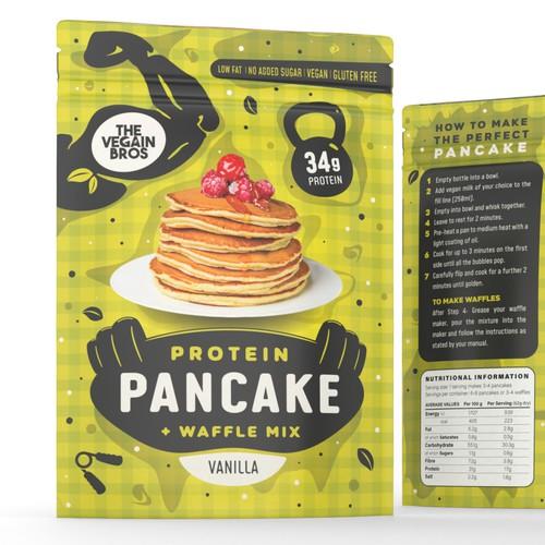 Pancake mix package