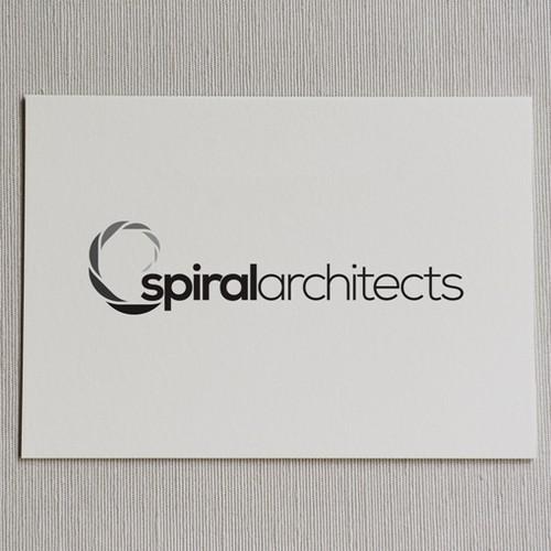 Logo concept for architect company.