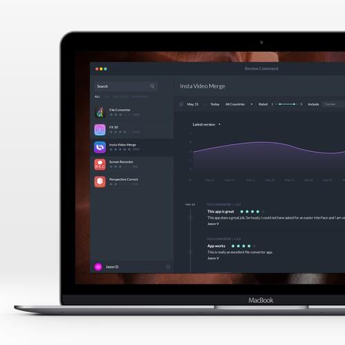MacBook app for tracking App Store reviews