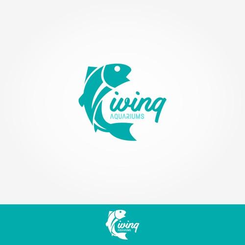 Logo for Living Aquariums