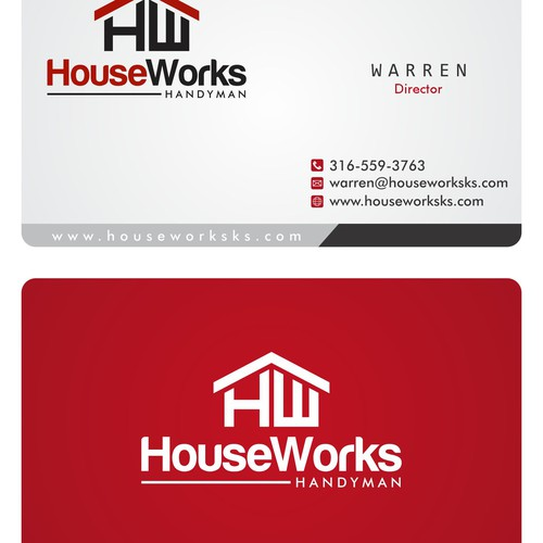 Create an awesome logo and business cards for a handyman/remodel startup