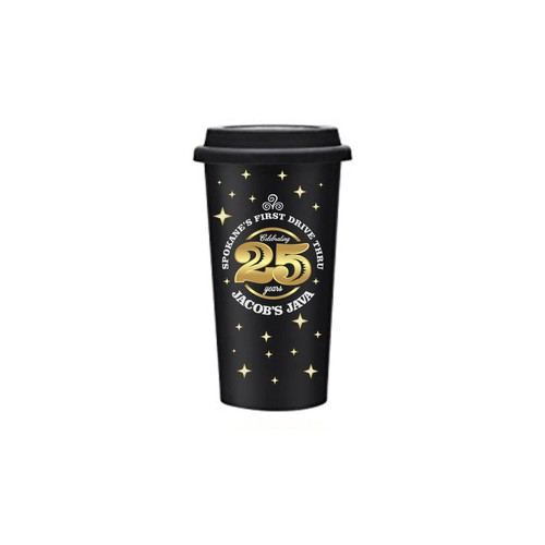 Spokane's first drive-thru espresso shop needs a anniversary logo