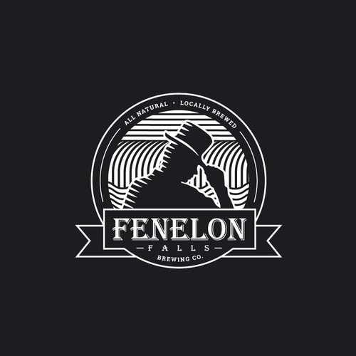 Logo design for Fenelon Falls