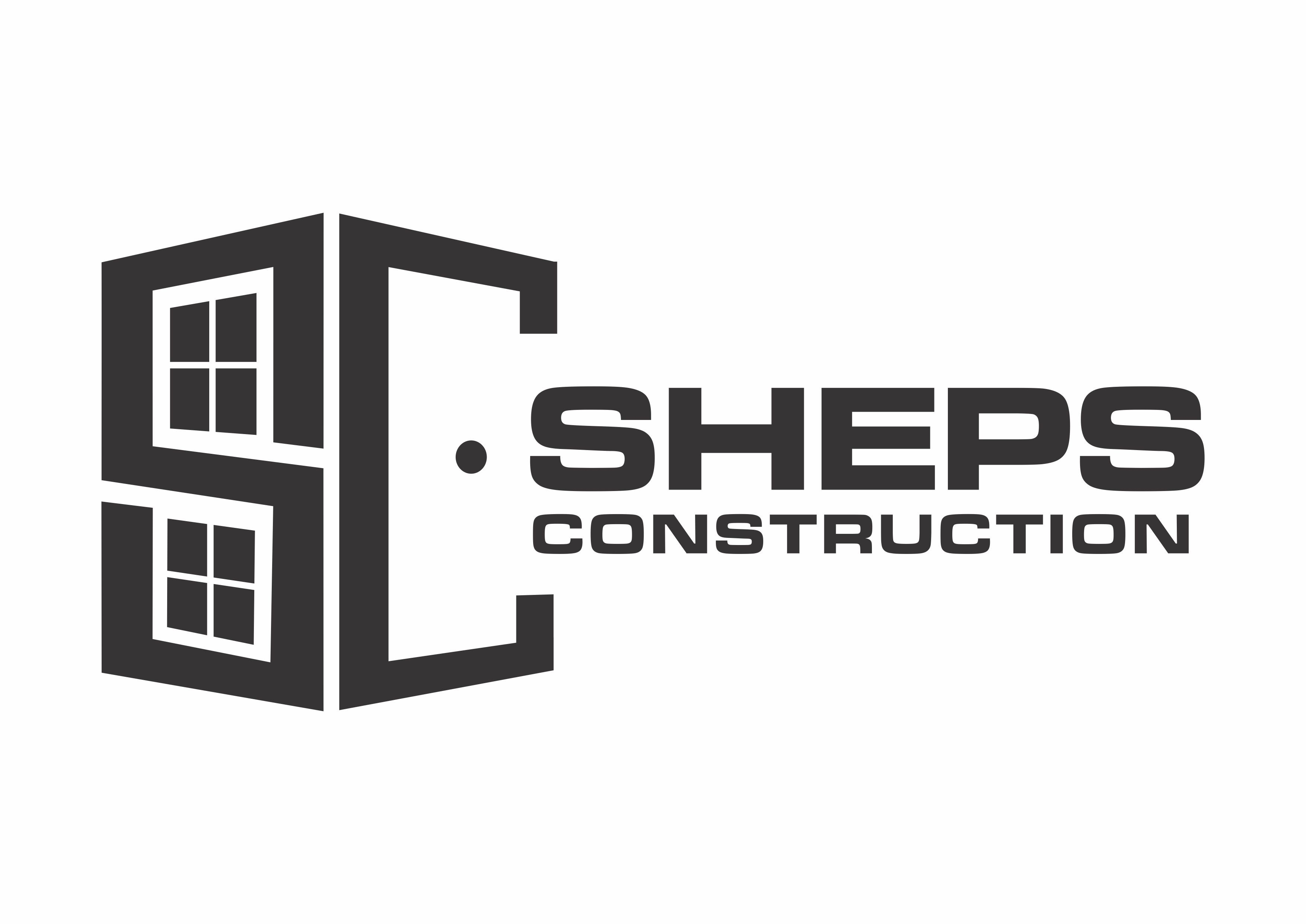 Construction Logo for Window/Door Company