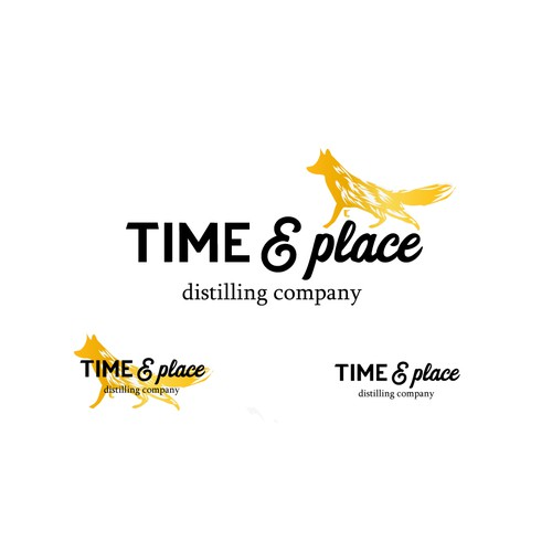 Time&place - distilling company logo