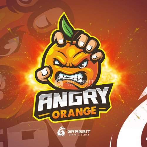 angry orange